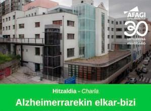 Alzheimerrarekin elkarbizitzaren inguruko hitzaldia eskainiko du bihar Afagi elkarteak