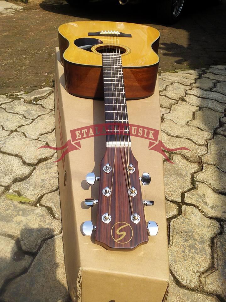 Gitar Akustik Samick DN-100 N | Top Solid Cedar