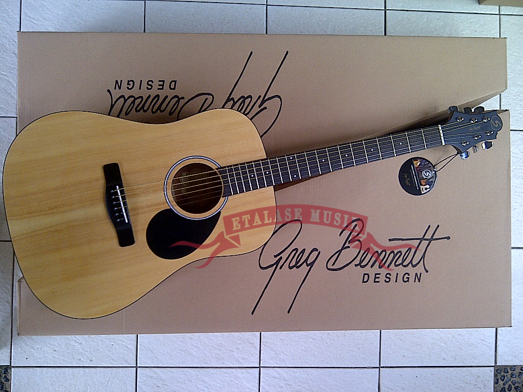 Gitar Akustik : Samick – Greg Bennett, G Series, GD-303 / OPN – Open Pore (natural)
