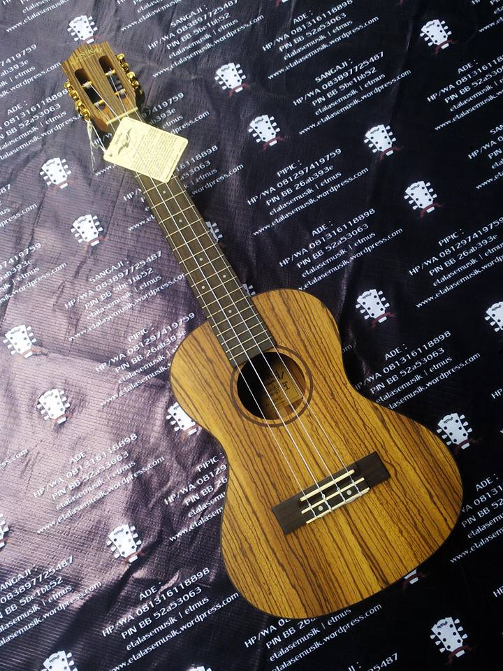 Ukulele Tenor : Lanikai SZW-T | Solid Zebra Wood | All Solid Wood