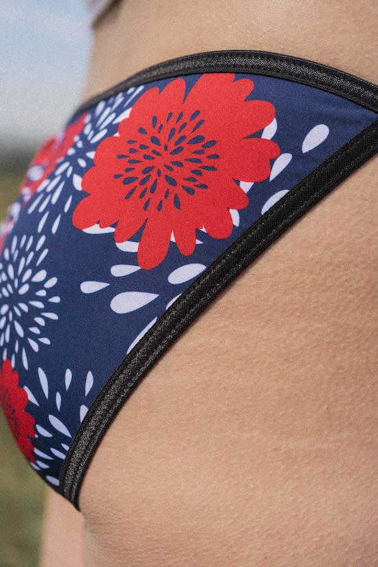 culotte quiclac fleurs