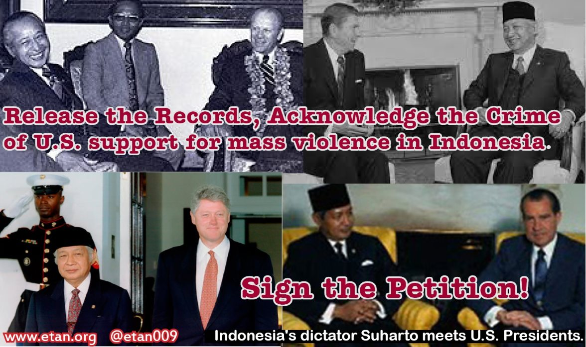 Sign ETAN's Petition: Release the Records, Acknowledge the Crimes of 1965/66 Mass Violence in Indonesia