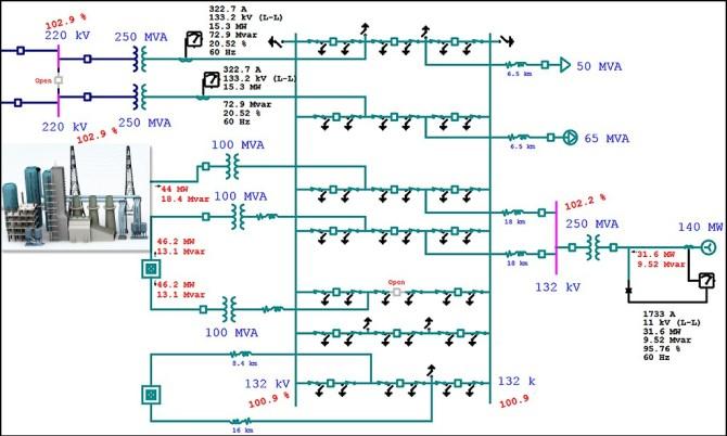 electrical singleline diagram  electrical oneline diagram