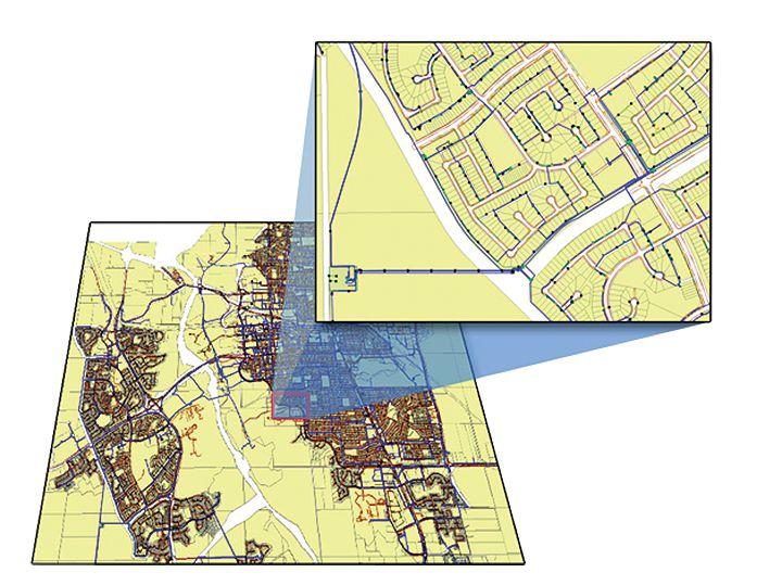 Geospatial Electrical Diagram | ETAP