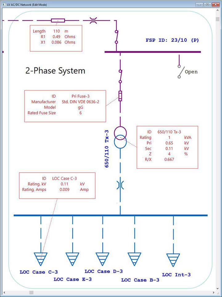 Electrical SingleLine Diagram | Intelligent One Line
