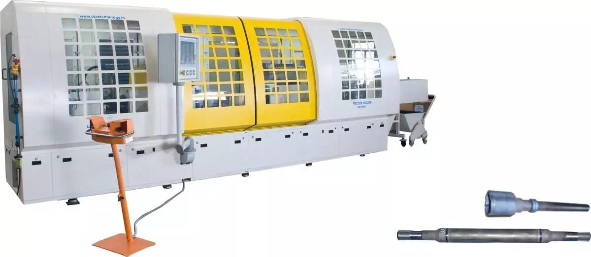 6T - Vertikale Maschine für geringeren Platzbedarf