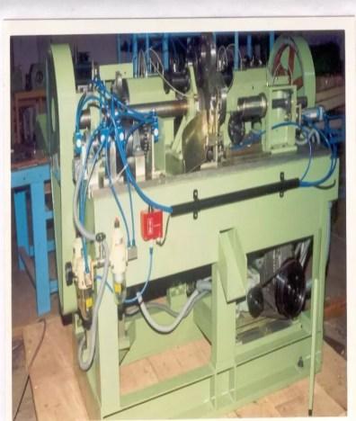 Facinge & Chamfering machine for bi Metal Bearings