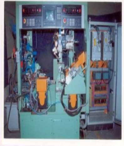 CNC Twin Spindle Head Machine for Engine Valve