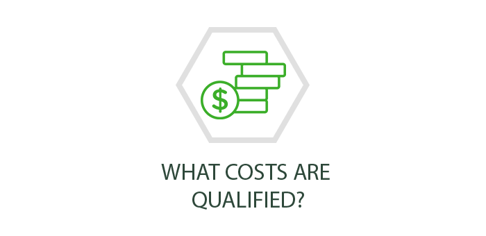 What costs are qualified?