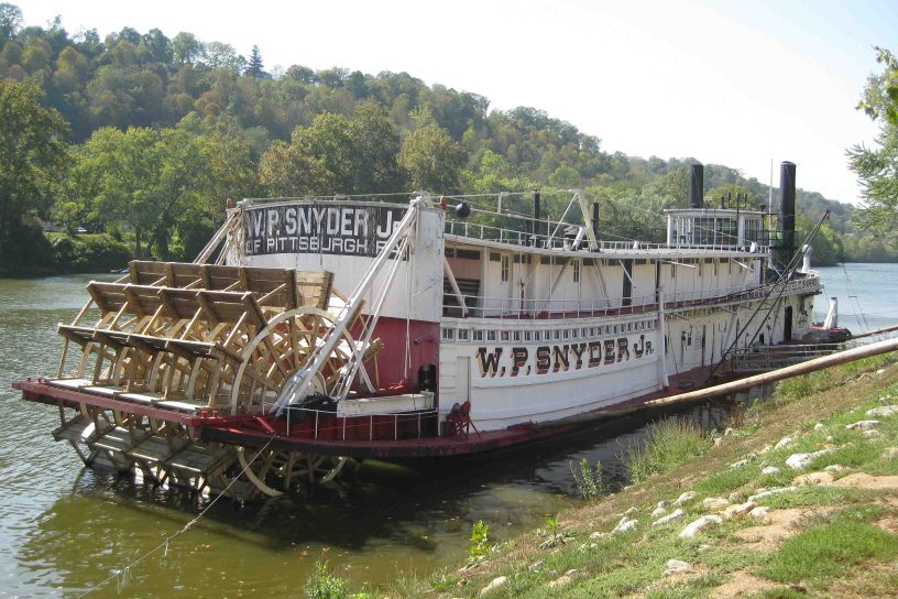 Towboat WP Snyder