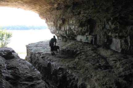 cave in rock state park illinois