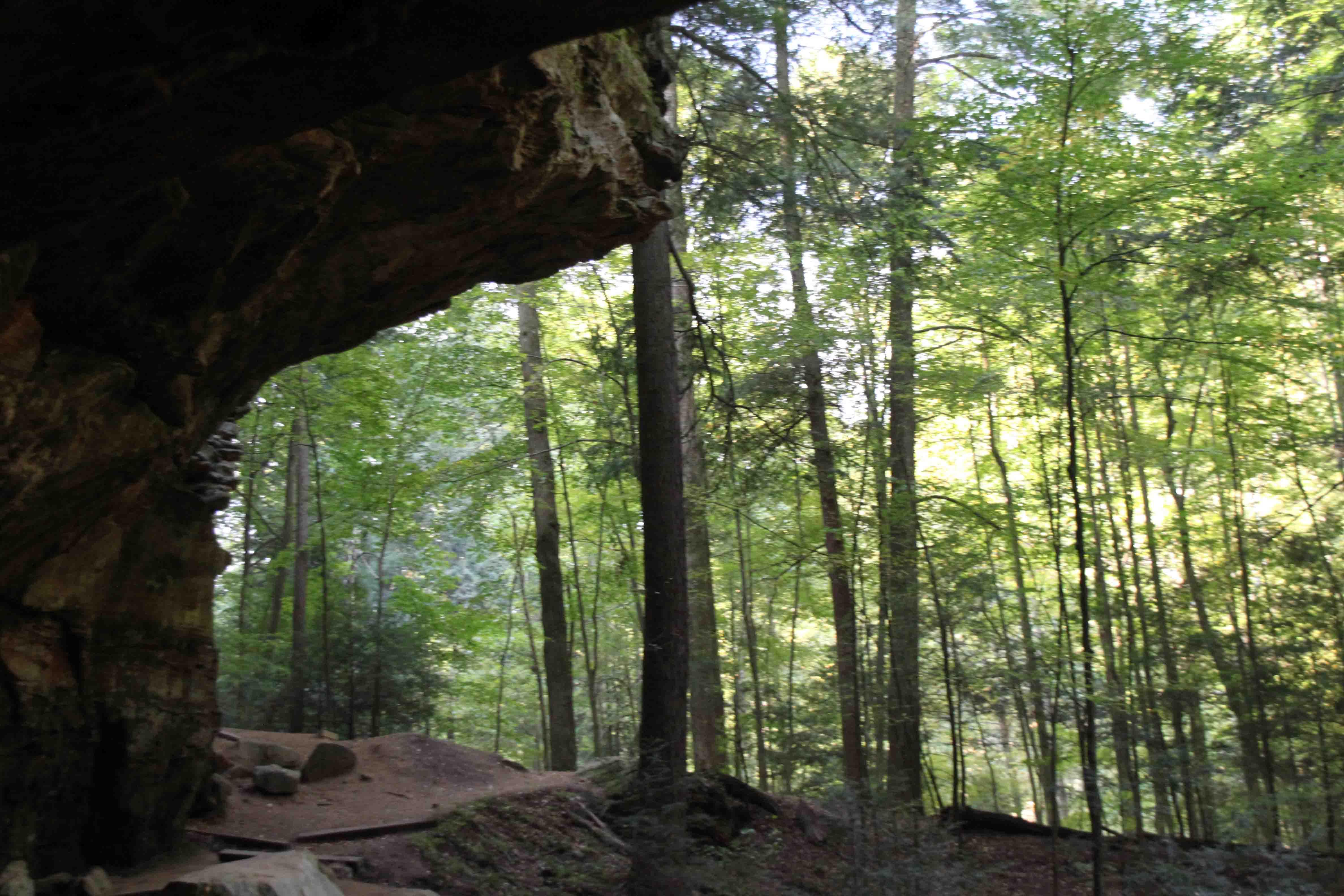 ash cave at Hocking Hills State Park