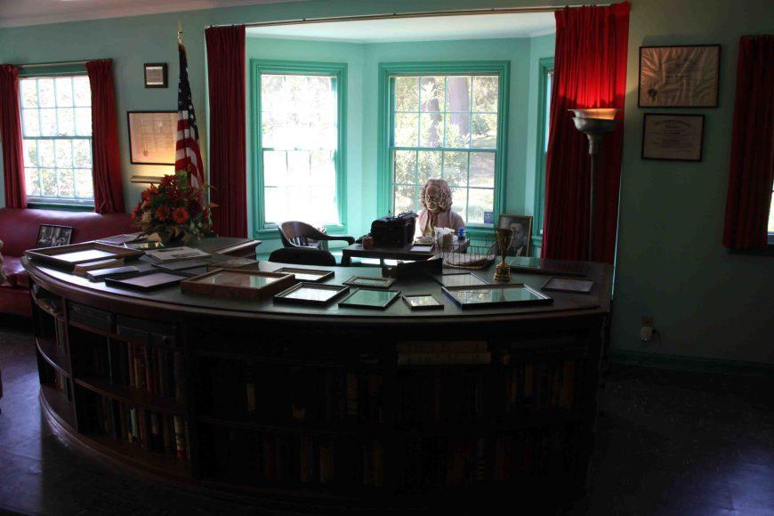 bromfield's desk at Malabar farm state park