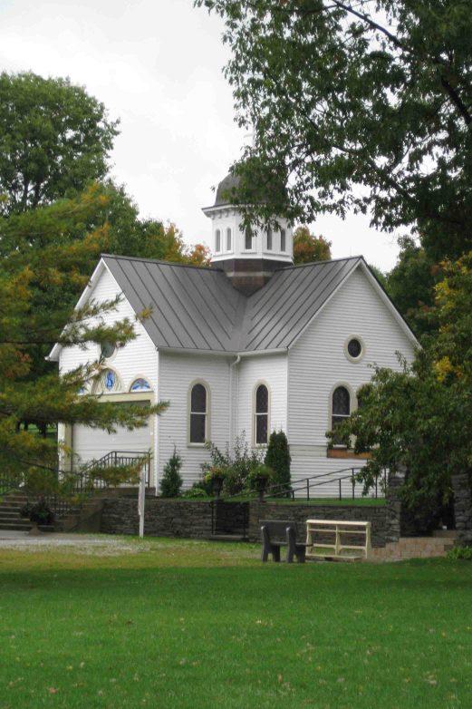 St Anne's Shrine on Isle La Motte