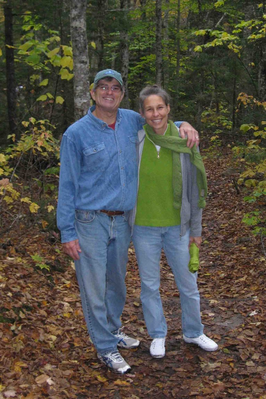 ruth and terry at crawford notch state park