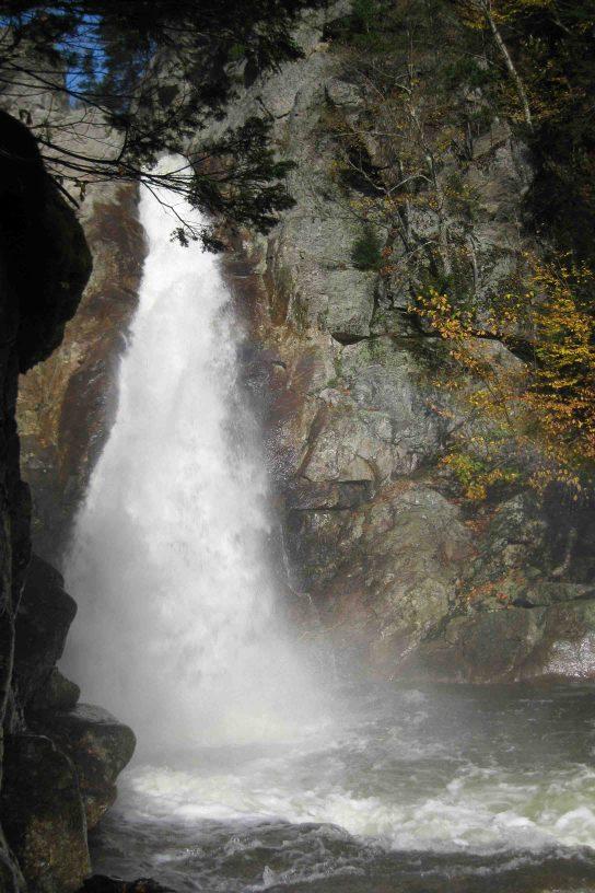 Glen Ellis Falls in White Mountain National Forest