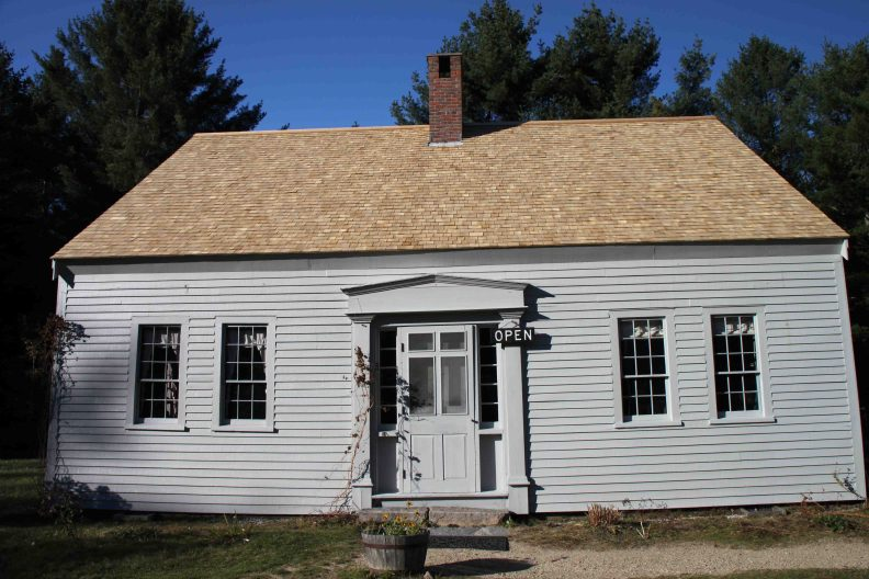 Russell-Colbath House in the White Mountain National Forest