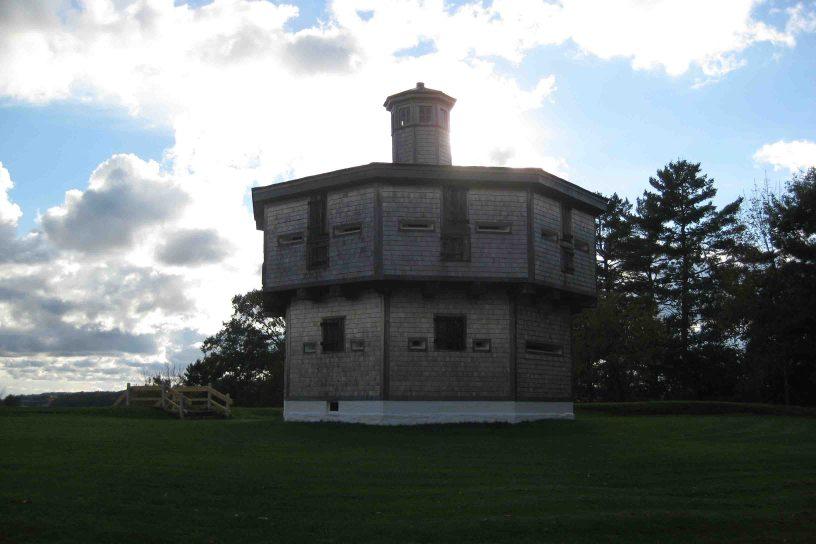 Fort Edgecomb on the Maine coast