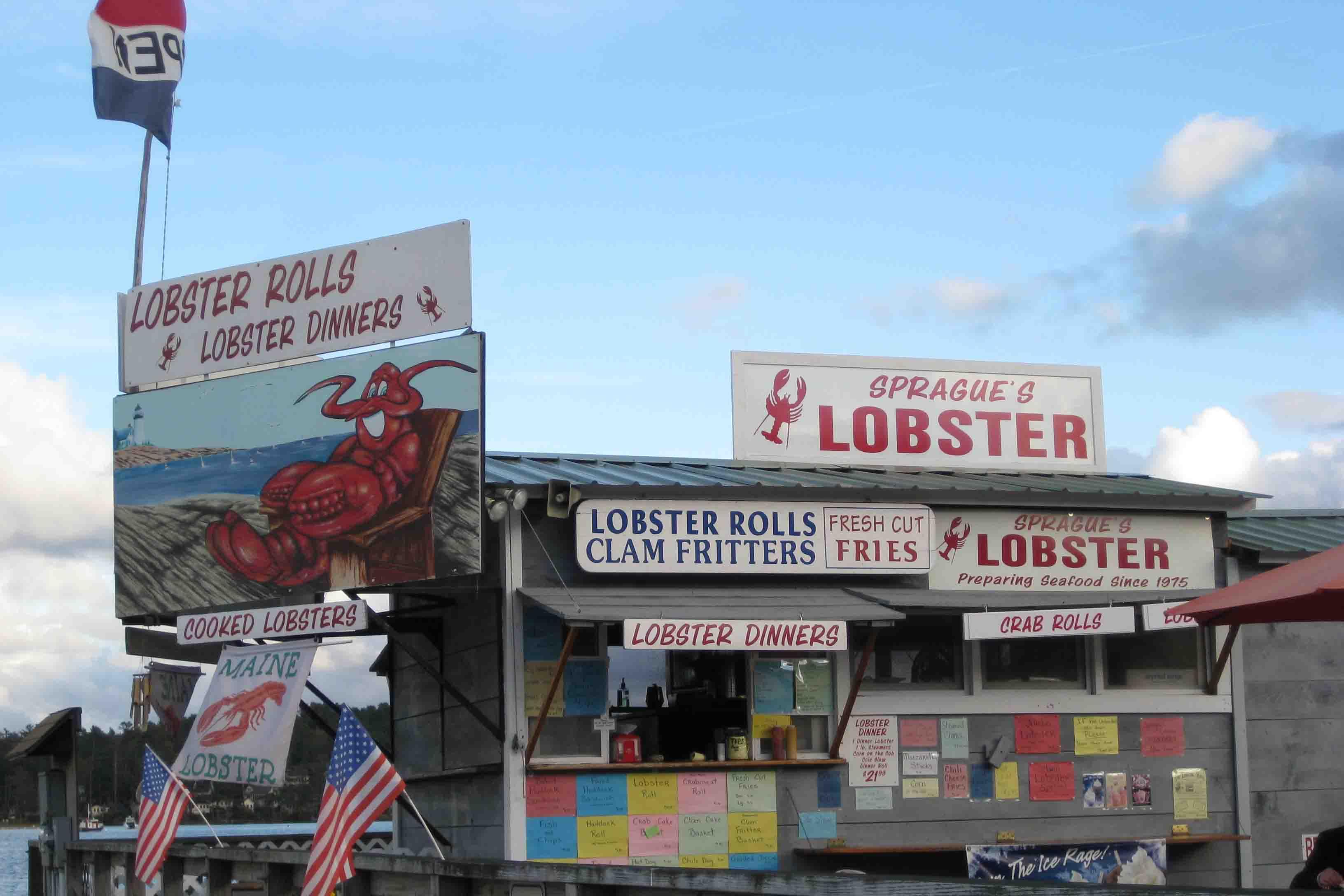 Sprague's Lobster in maine