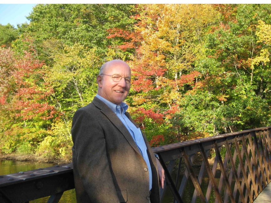 Bill at East Rock Park and College Woods in New Haven