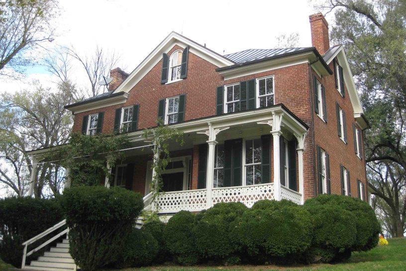 Katherine's house in Berryville, Virginia