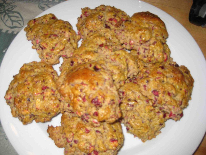 homemade raspberry scones