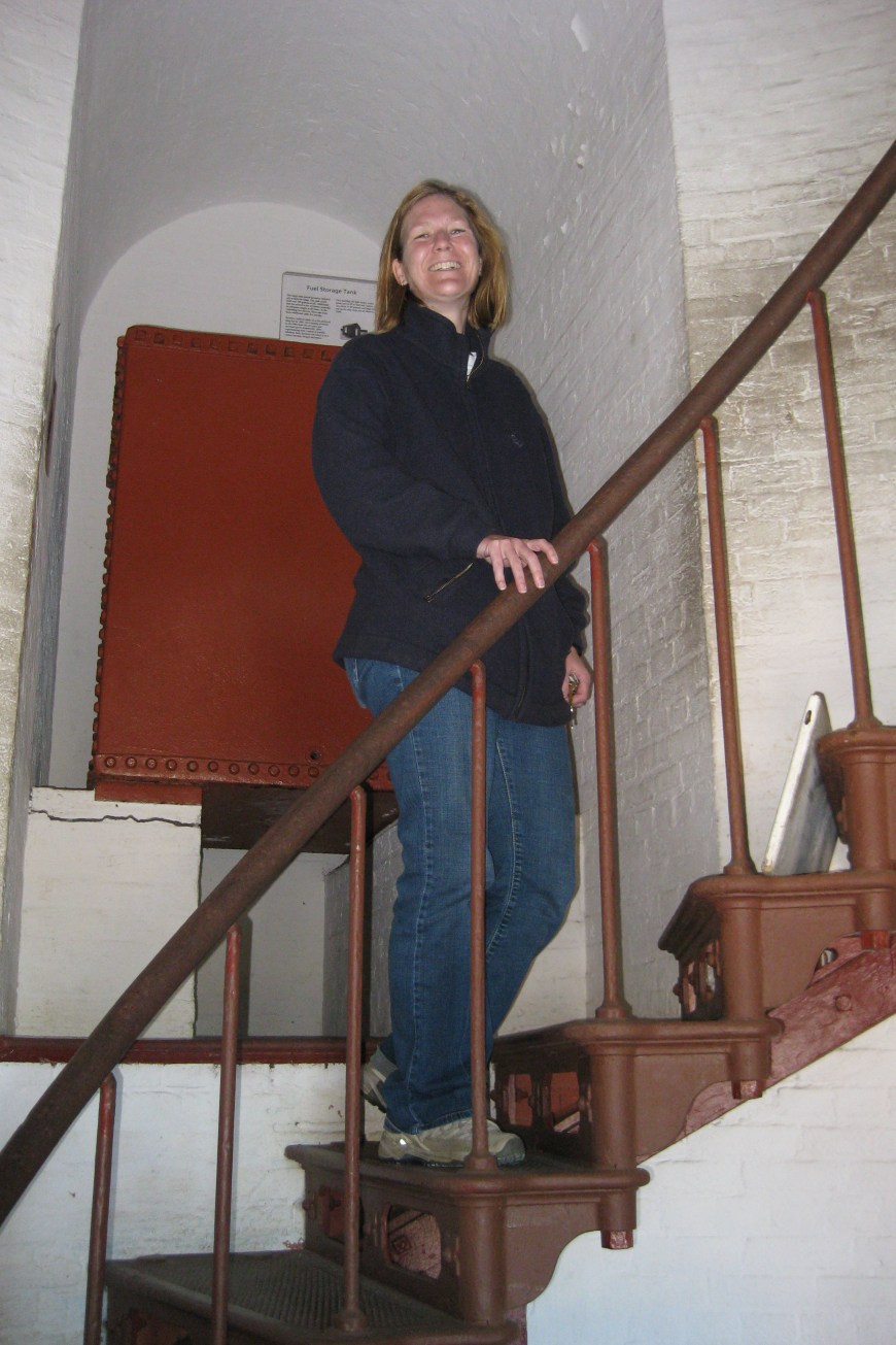 me in the cape hatteras lighthouse