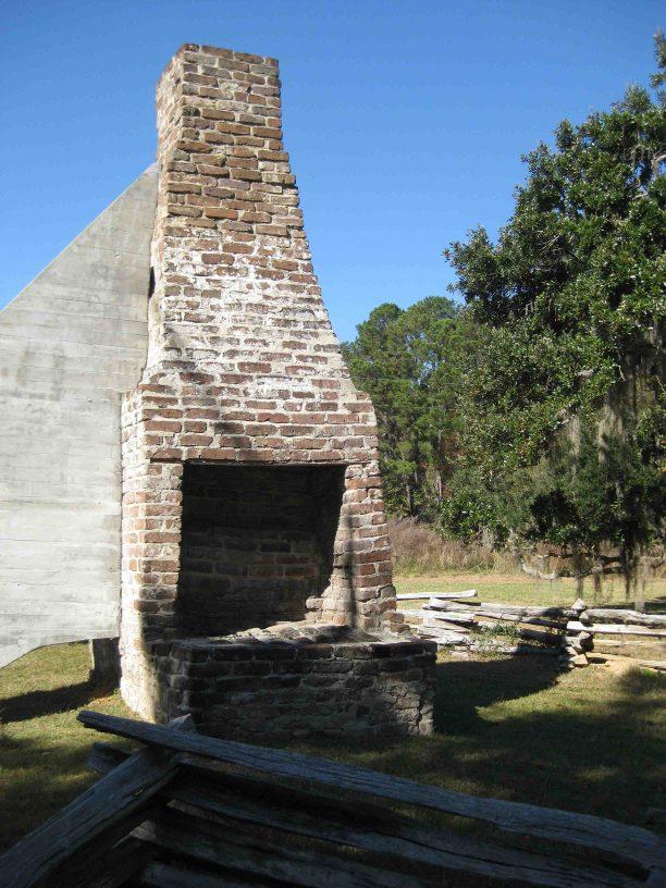 slave's home at hampton plantation state park