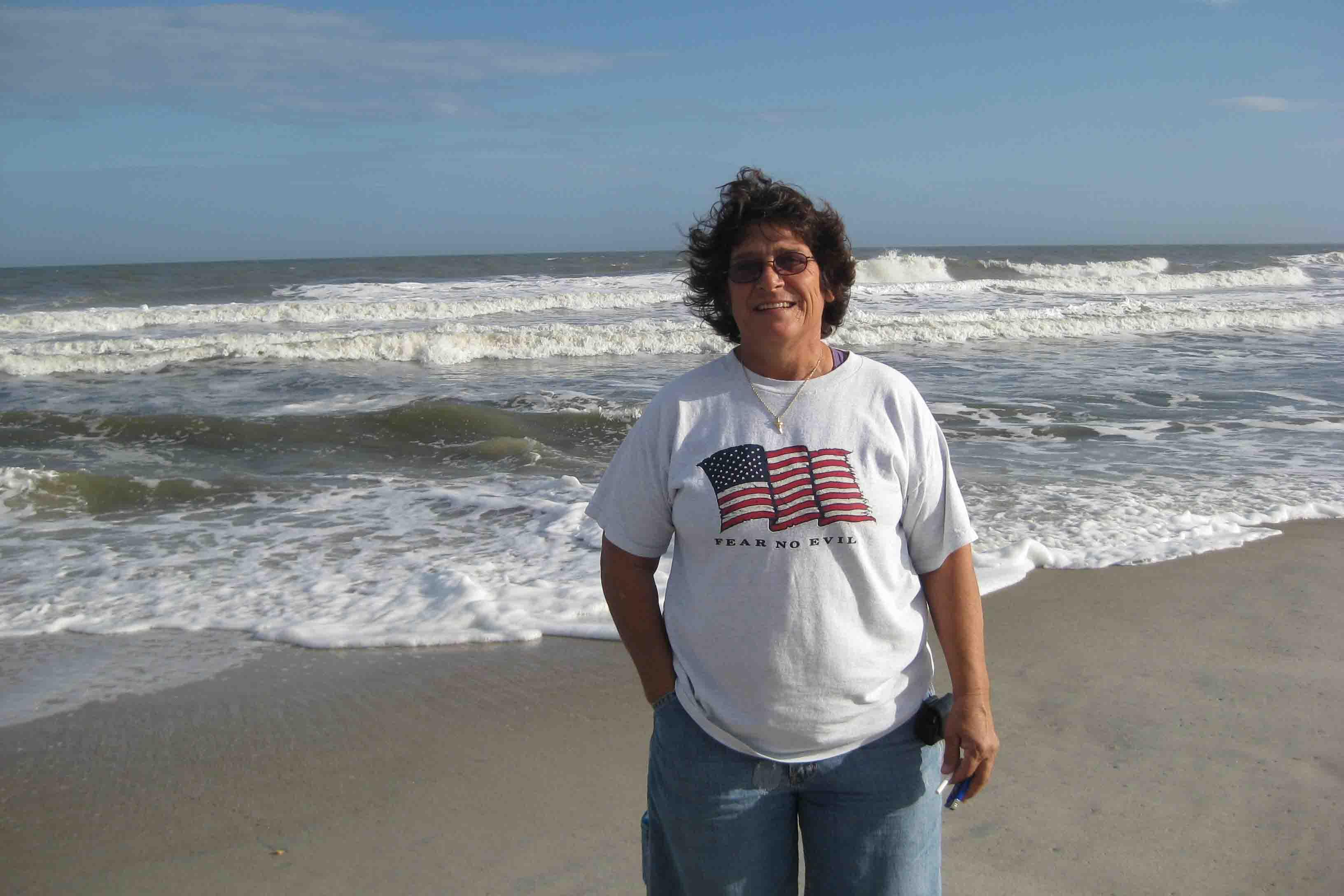 connie at Fernandina beach