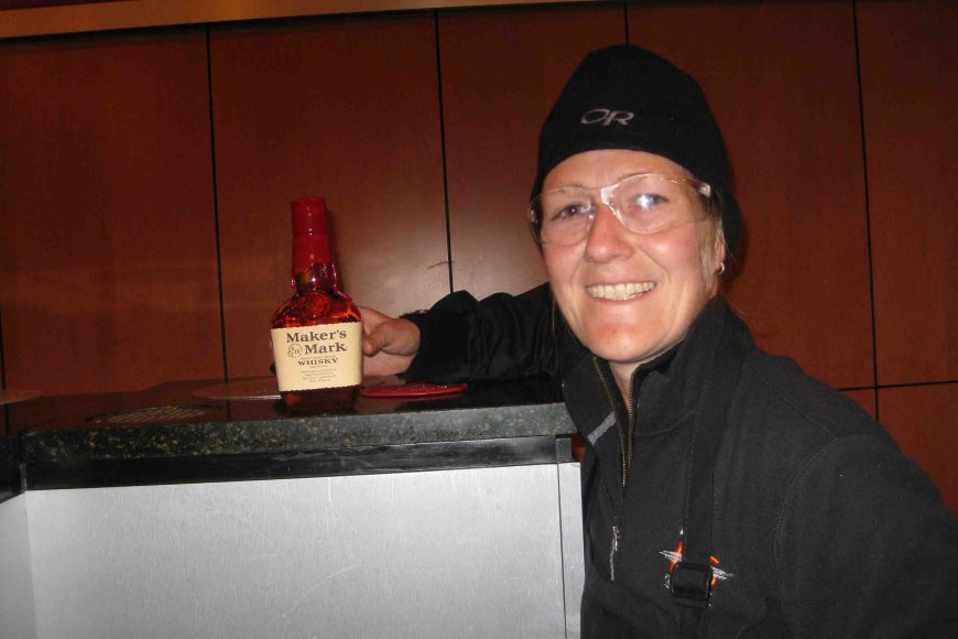 me and my bottle at maker's mark distillery