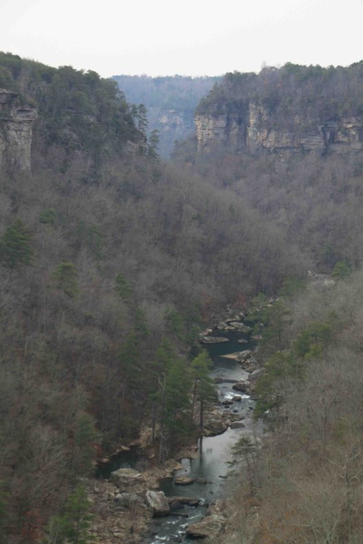 little river canyon on lookout mountain parkway