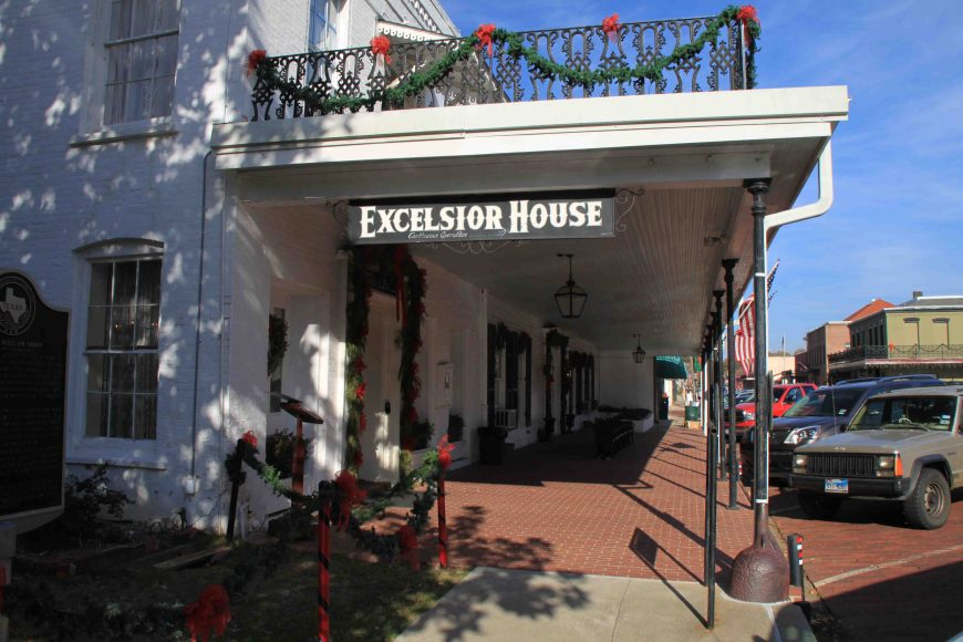 excelsior house in jefferson, texas