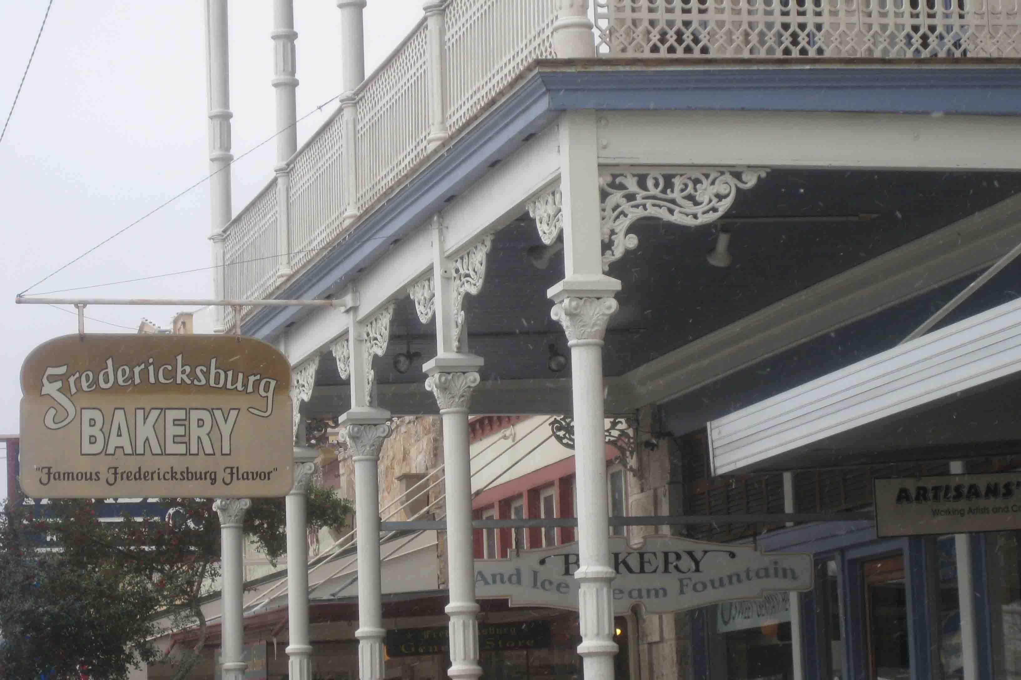 Fredericksburg bakery