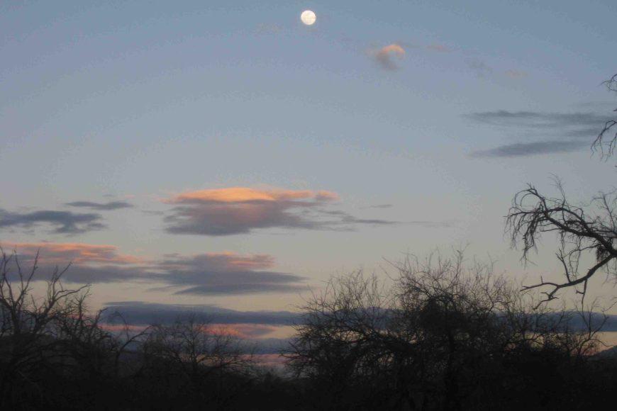 moon over tucson