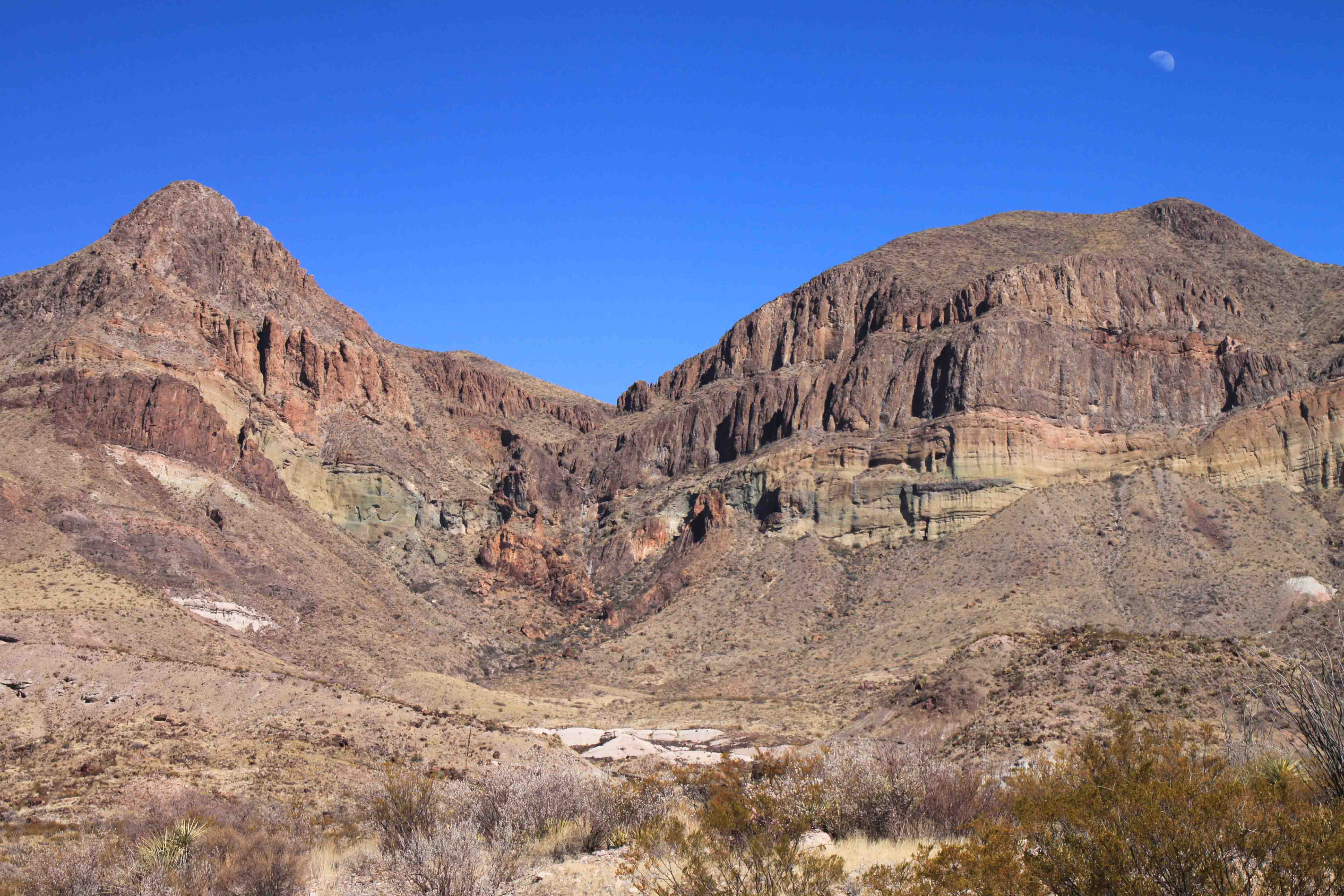 goat mountain  in Big Bend National Park