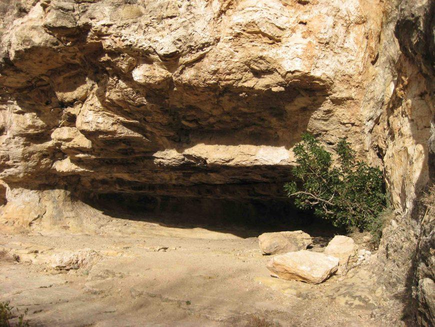 indian cave at carlsbad cavern