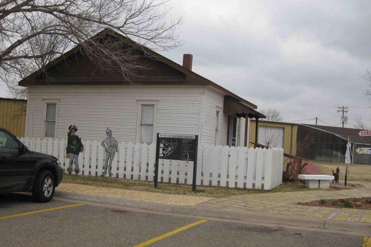 Dorothy's House in Liberal, Kansas