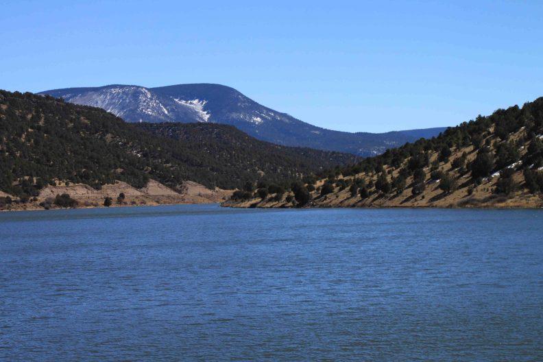 nelson reservoir on the coronado trail