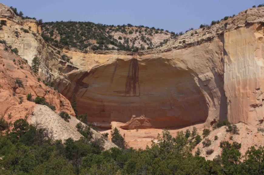 echo amphitheater in Carson National Forest
