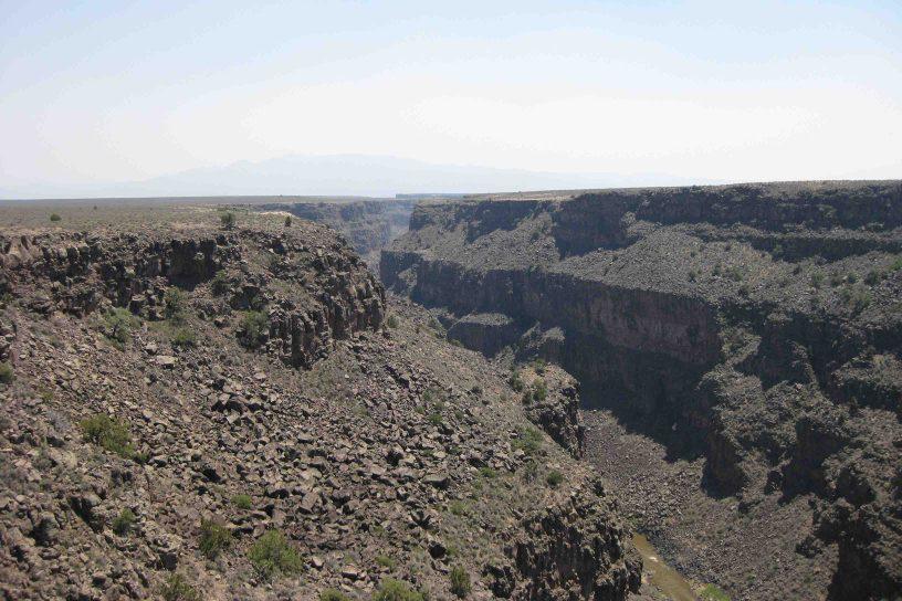 rio grand gorge, new Mexico