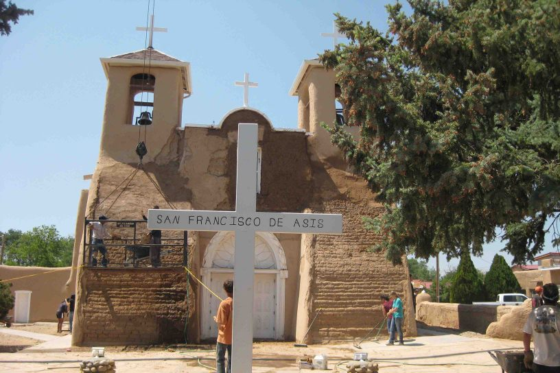 Church of St. Francis of Assisi in Taos