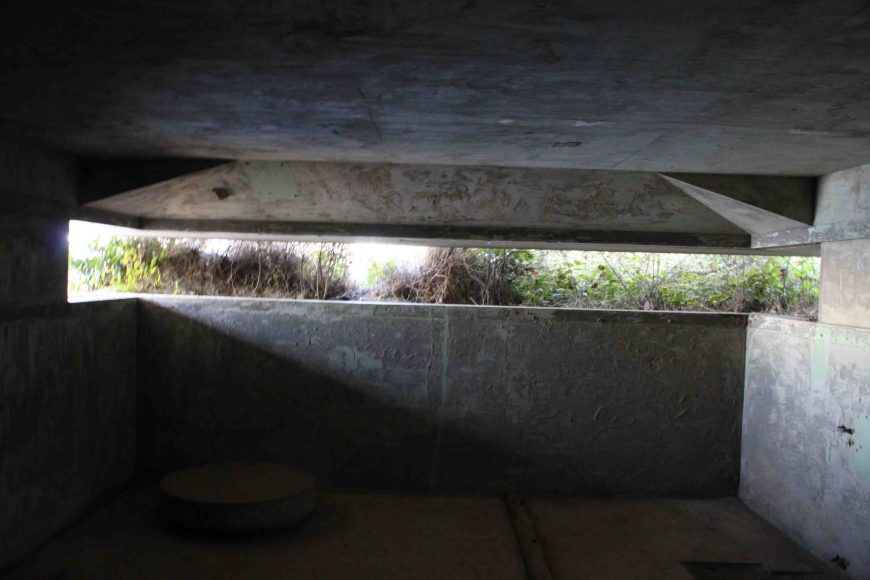 gun battery at fort ebey state park