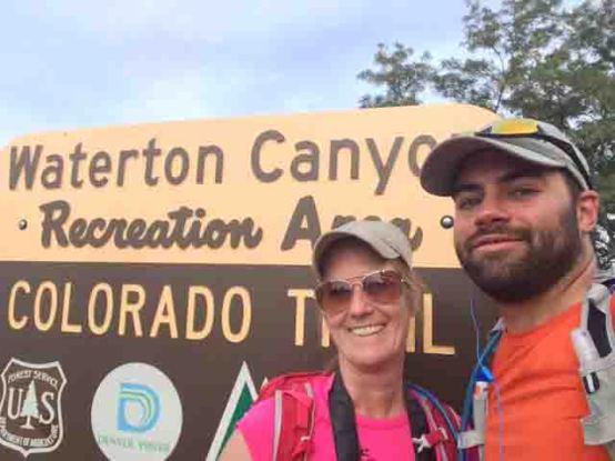 waterton canyon sign