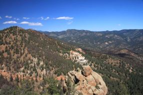 view from the colorado trail segment 2