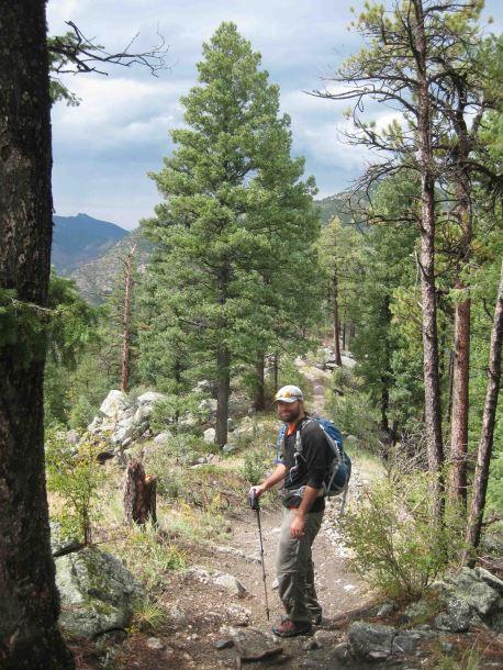 jb on the colorado trail