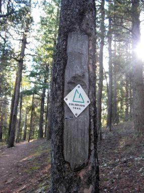 colorado trail sign