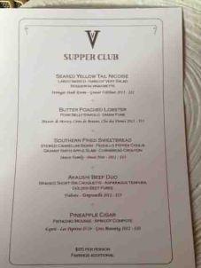 vaudeville supper club