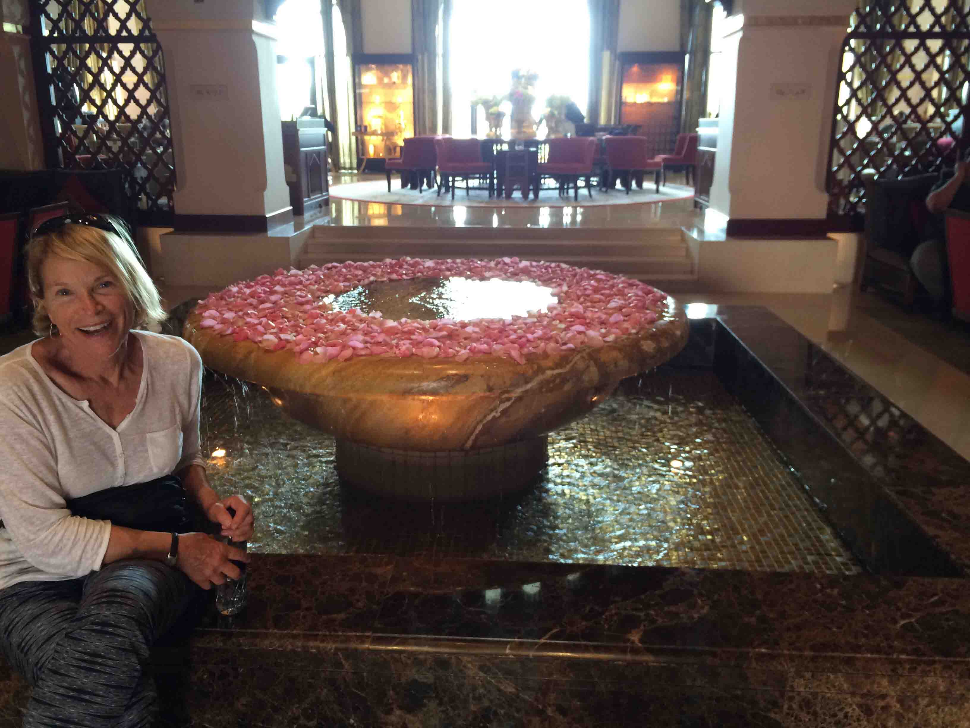 Palace Downtown Dubai lobby
