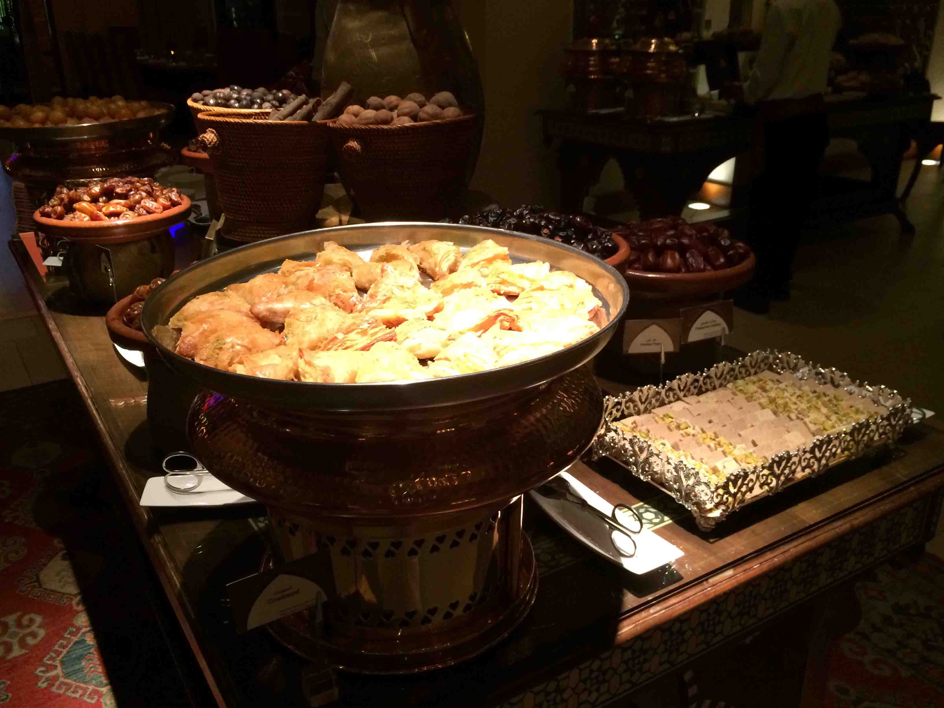 buffet at Palace Downtown Duba