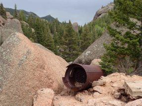 old mine eqipment